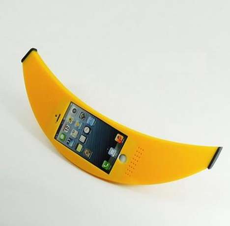 Banana Phone Covers - This Banana Phone Case is as Realistic as a Fruit-Mimicking Case Can Get
