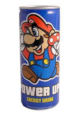 Retro Gamer Energy Drinks