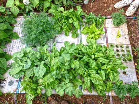 Gardening Cheat Sheet Mats