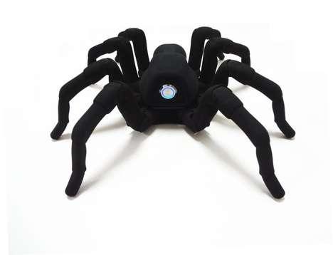 3D-Printed Arachnid Robots