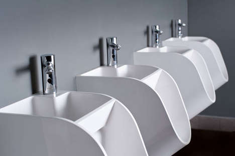 These Urinals Have Built-In Sinks to Encourage Hand Washing Among Men