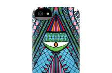 Fantasy Framed Phone Cases - Mara Hoffman's Inspired iPhone Cases are Psychadelic