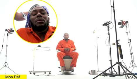 Rapper Human Rights Protests - Rapper Mos Def Undergoes Guantanamo Bay-Style Force-Feeding