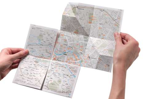 Zoomable Paper Maps