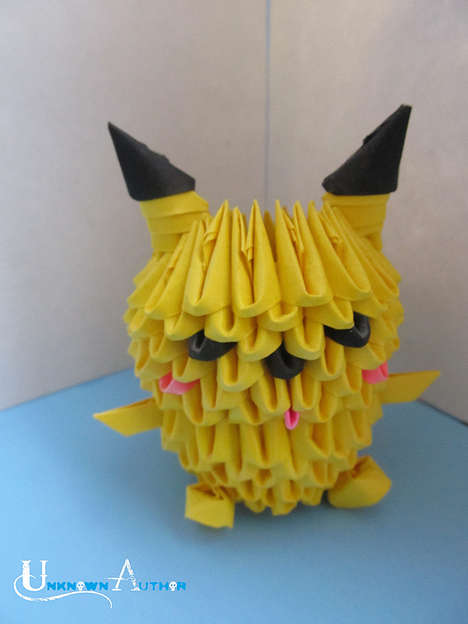 Complex Origami Characters