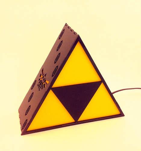 Triangular Fantasy Gamer Lamps