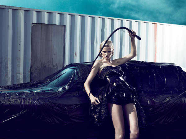 33 Daring Dominatrix Editorials