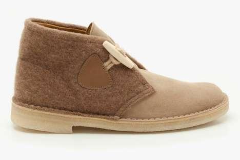 Toggled Fall Footwear