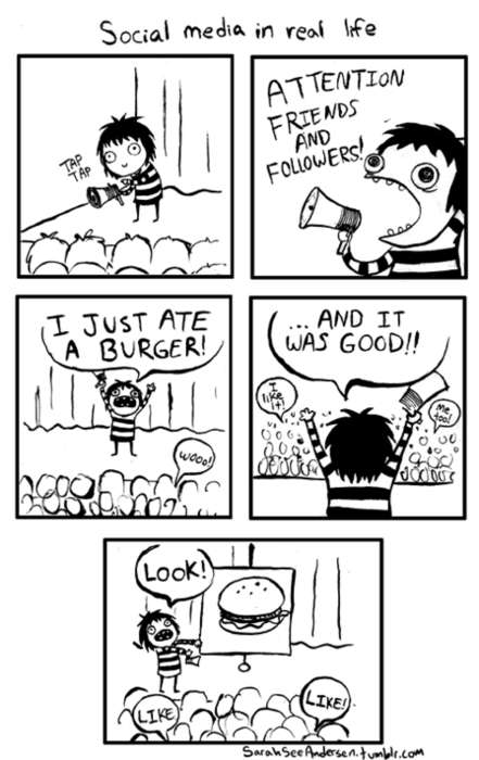 Satirically Honest Internet Cartoons