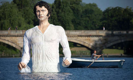 Giant Literary Figure Statues