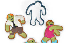 Apocalyptic Cookie Cutters - These Mini Zombie Cookie Cutters Make for a Deliciously Eerie Treat