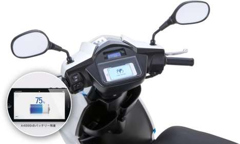 Smartphone-Controlled Scooters - This Smart Scooter Takes Commands of Your iPhone