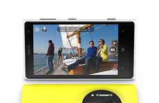 Camera-Copying Smartphones - The Nokia Lumia 1020 Puts the Emphasis on Being a Camera That Can Call
