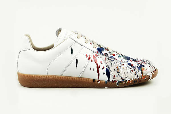 19 Paint-Splattered Shoes
