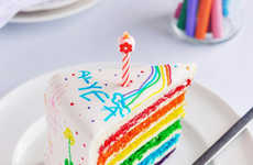Colorful Children's Doodle Cakes - This Doodle Kids Cake Lets Children Draw Their Cake Design