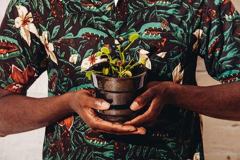Tropical Literary-Inspired Lookbooks