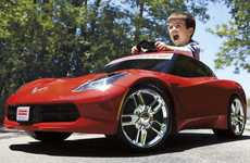 Mini Kid-Friendly Sports Cars - This Mini Corvette Stingray Adds Some Luxury to Playtime