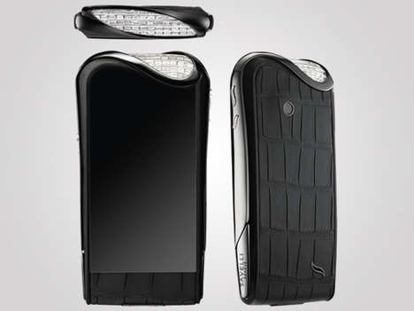 Exclusively Women-Targeted Smartphones - The Savelli Jardin Secret Line Features Phones for Women