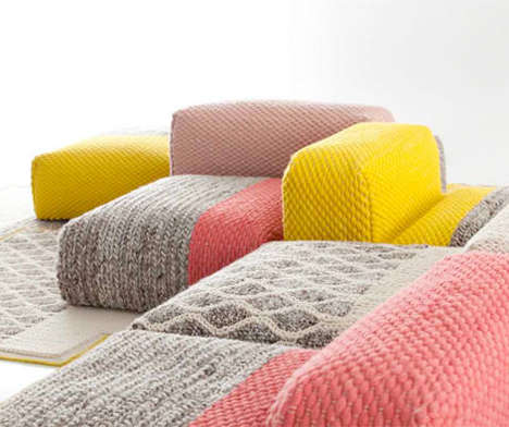 Snugly Sweater-Inspired Furniture