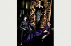 Regal Jewel-Toned Fashion - The Etro F/W 2013 Ad Campaign is a Fantastical Take on Royalty