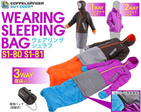Dual-Purpose Sleeping Bags