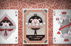 Bacon-Inspired Card Games - The Baconery & Vanda Cards Create a Universe for Bacon Enthusiasts