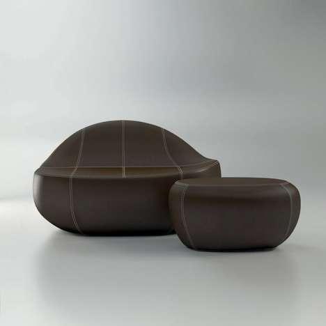 Organic Asymmetrical Seating