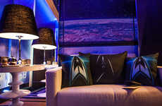 Movie-Inspired Hotel Rooms - The Star Trek Hotel Room Offers Guests a True Trekkie Experience
