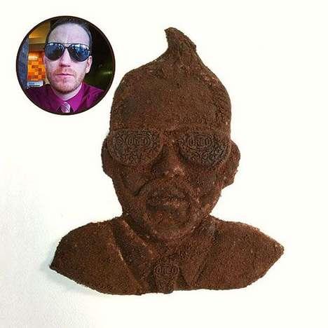 Deceiving Cookie Sculptures