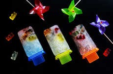 DIY Gummy Popsicles - This DIY Recipe Blends Gummy Bears and Sprite