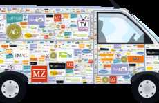 World-Traveling Car Ads - The 'onemillioncar' Project is a Year-Long European Auto Advertisement
