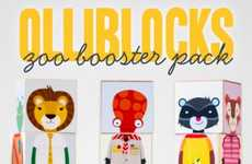 Personifying Animal Building Blocks - Olliblocks are Fun and Educational Toys for Children