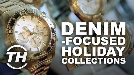 Denim-Focused Holiday Collections