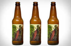 Apocalyptic Undead Beers - These Eerie Demon Beers are the Perfect Boozy Zombie Food