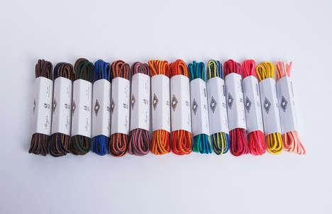 Sunrise-Inspired Shoelaces