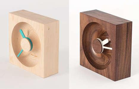 Wood Block Time-Tellers