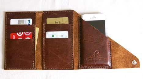 Wrappable All-in-One Wallets