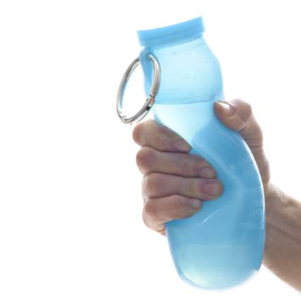 Scrunchable Water Bottles