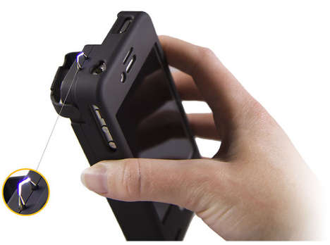 Taser-Ready Smartphone Cases