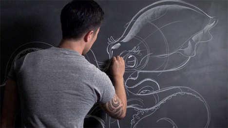 Enlightened Chalk Sketches