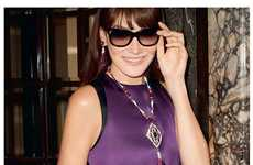 Luxe Roman-Inspired Jewelry - The Bulgari Diva Collection Campaign Stars Carla Bruni