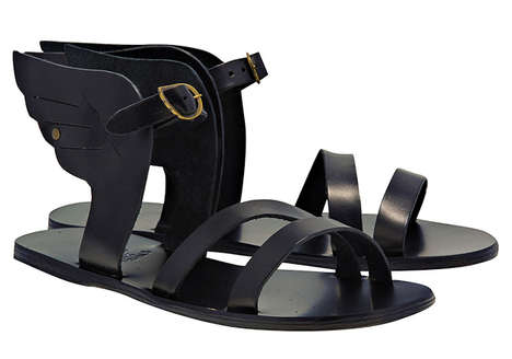 Mythology-Inspired Footwear - These Ancient Greek Sandals Will Make a Demigod Out of You