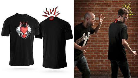 Motion Sensor Superhero Shirts