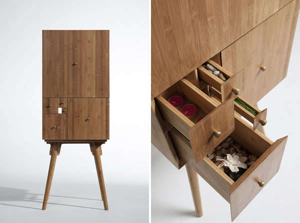 40 Compartmentalized Furniture Pieces