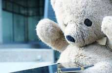 Health-Monitoring Teddy Bears - Teddy the Guardian by IDerma Tracks Children's Vital Signs