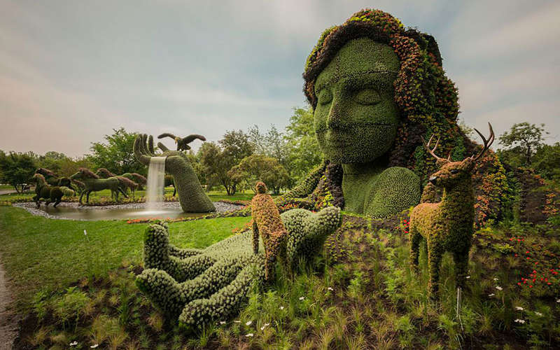 Incredibly Intricate Eco-Sculptures