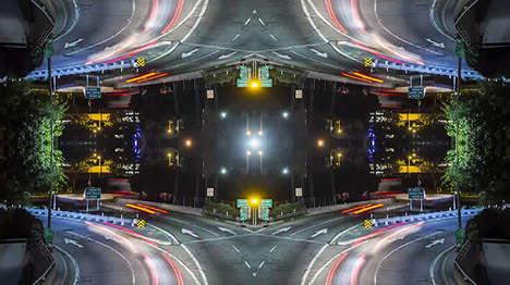 Crafty Kaleidoscopic Cityscapes