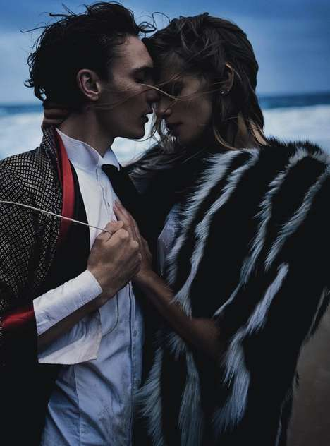 Romantic Seaside Editorials