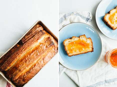 Croissant Hybrid Bread Loaves