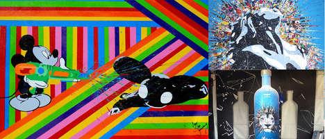 Mixed Media Pop Art